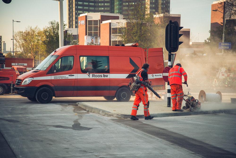 Foto van werkzaamheden Roos Groep