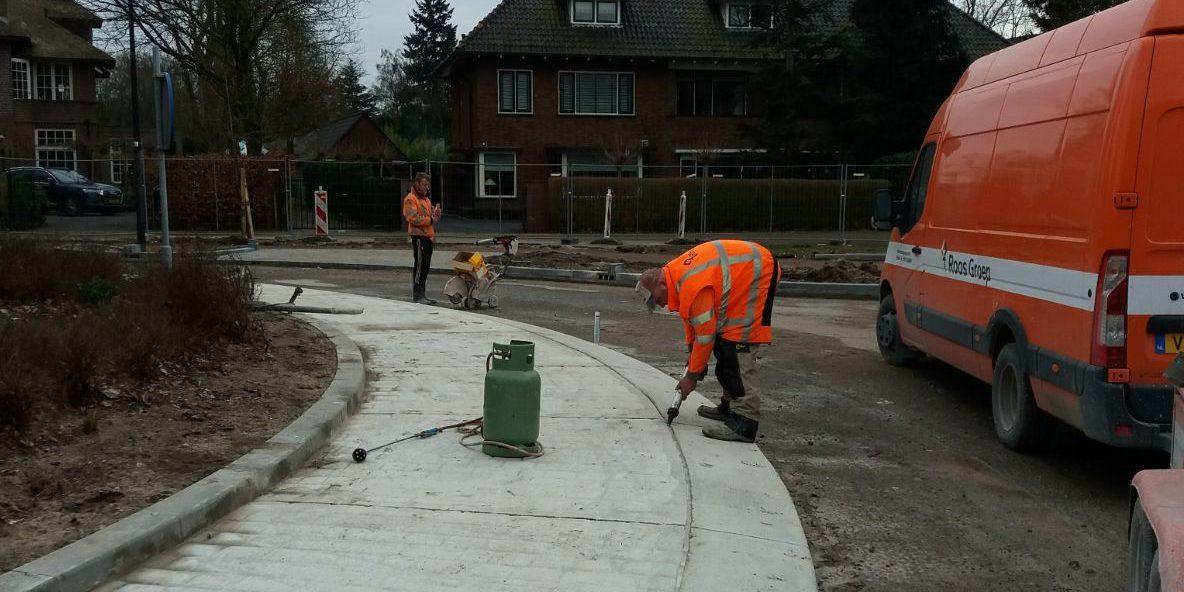 Afkitten beton