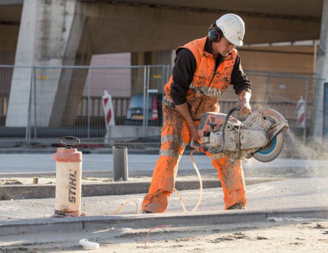 zagen betonverharding