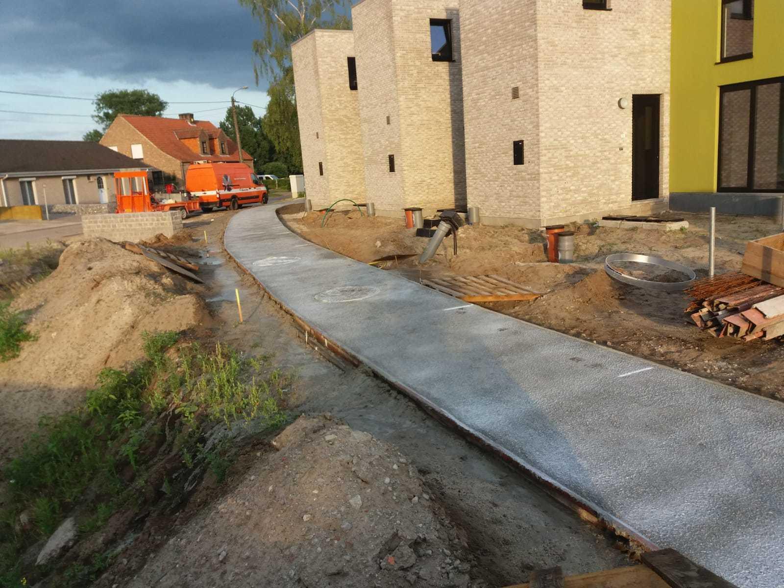 Uitgewassen beton Kasterlee