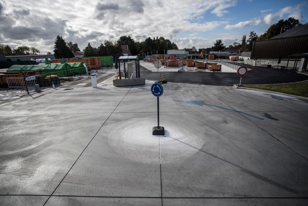 Terreinverharding in beton
