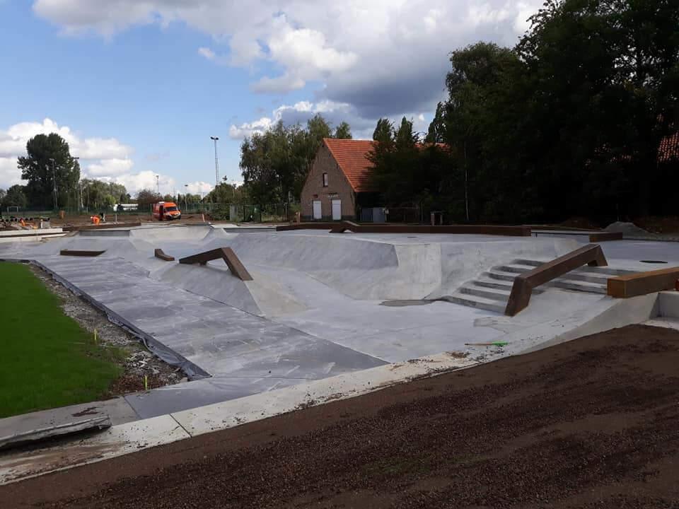 Skatepark van Beton